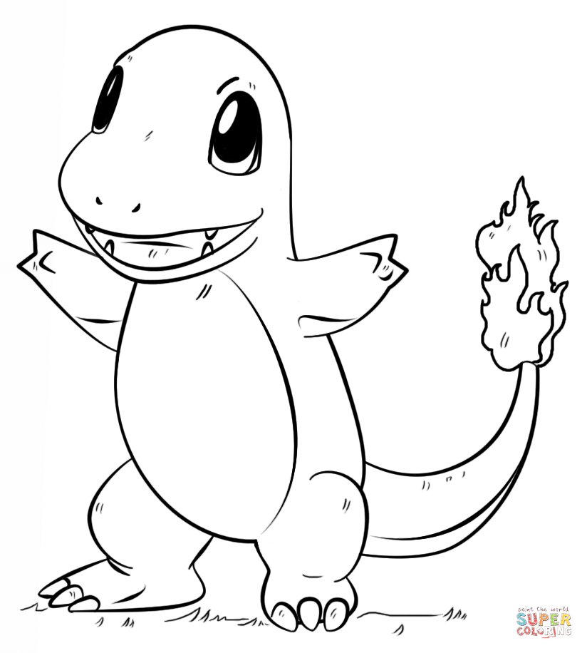 charmander colouring pages charmander coloring page pokemon colouring pages charmander