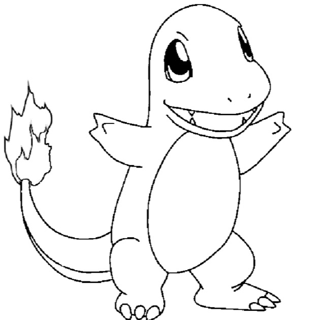charmander colouring pages happy charmander coloring page free printable coloring charmander pages colouring
