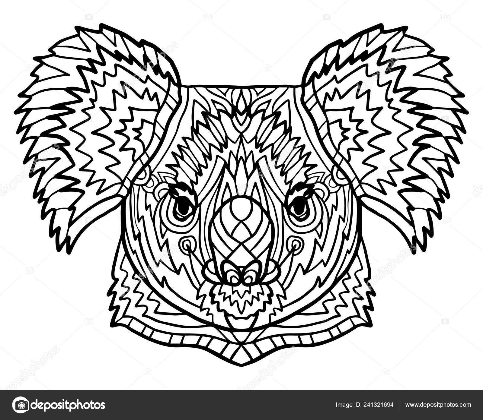 cheetah coloring pages for adults totem coloring page adults head koala zoo animal ethnic for adults cheetah coloring pages