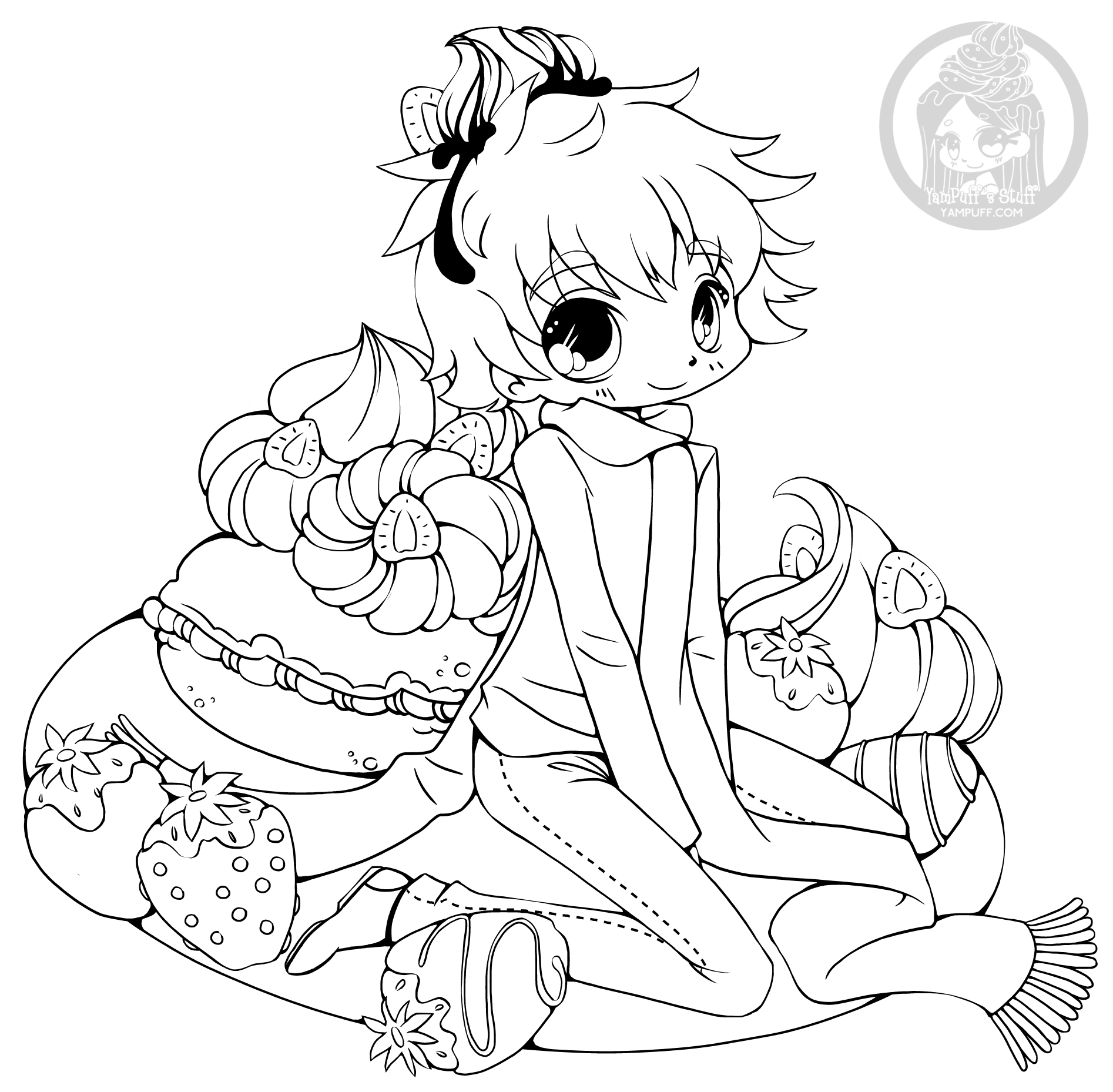 chibi boy coloring pages chibi boy lineart by mahwey on deviantart coloring chibi pages boy
