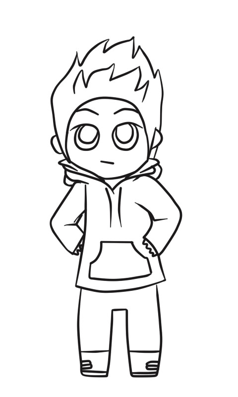 chibi boy coloring pages male chibi 1 by rainbow pages on deviantart chibi boy coloring pages