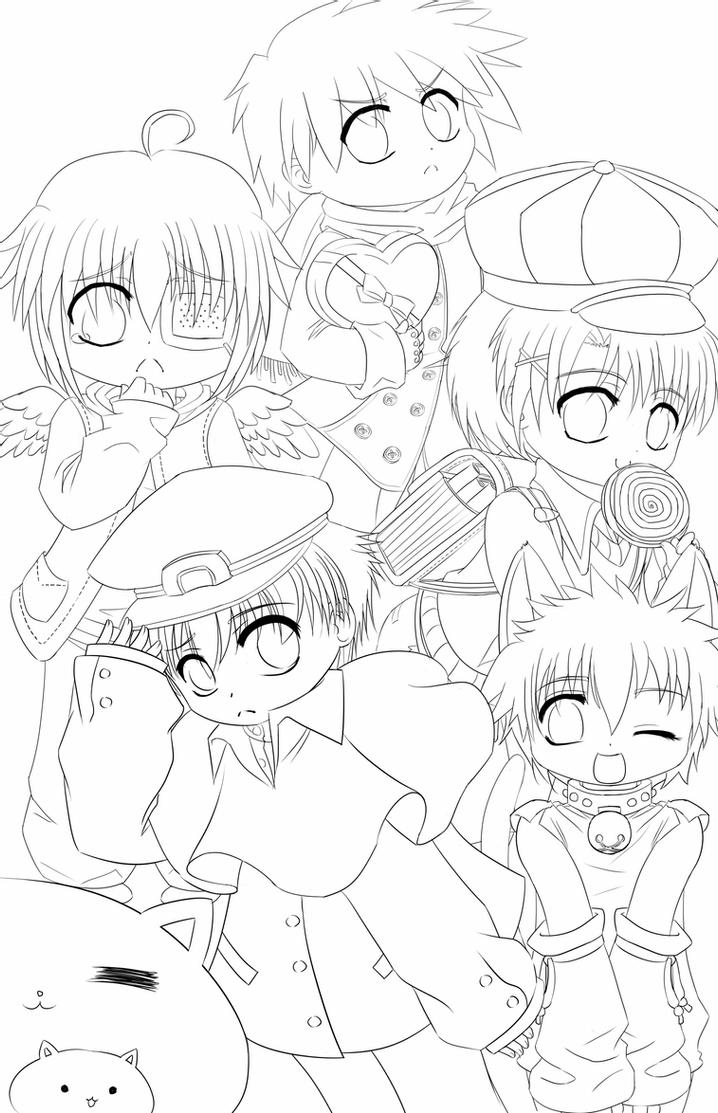 chibi boy coloring pages the best anime coloring pages chibi boys best coloring pages coloring chibi boy