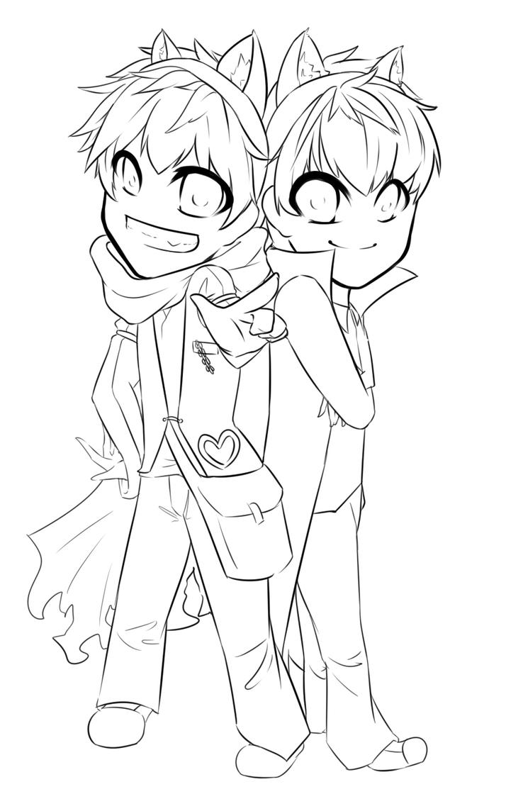chibi couple coloring pages chibi couple lineart by justalittlescene on deviantart coloring pages couple chibi