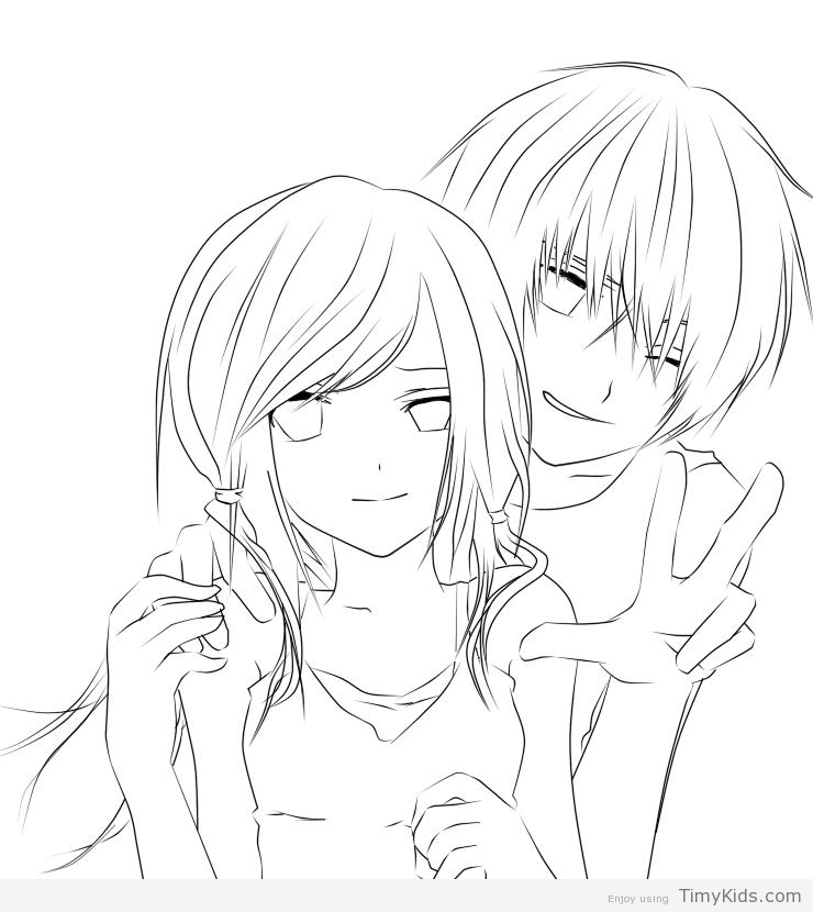 chibi couple coloring pages coloring pages of anime boys at getcoloringscom free chibi pages coloring couple