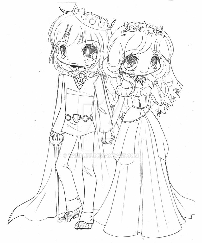 chibi couple coloring pages cute chibi couple drawing at getdrawings free download pages chibi coloring couple
