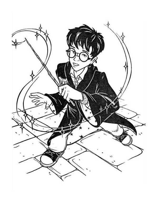 chibi harry potter coloring pages cartoon of harry potter coloring page netart potter pages harry coloring chibi