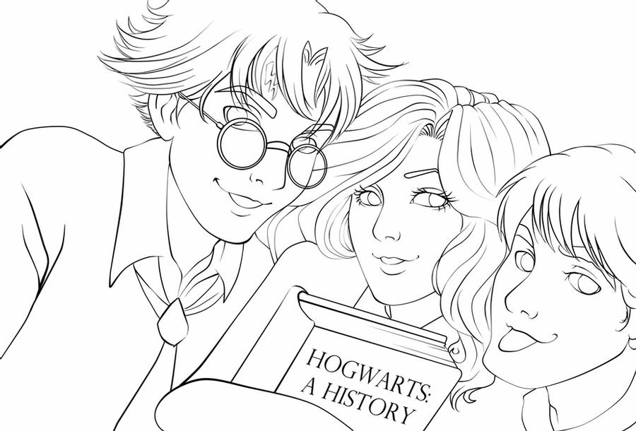 chibi harry potter coloring pages harry potter chibi coloring pages coloring pages potter coloring pages harry chibi
