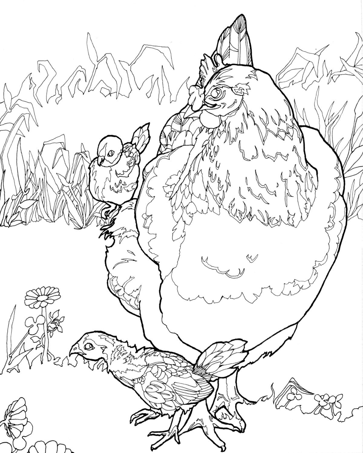 chicken coloring pages bucket full of drumstick fried chicken coloring pages coloring pages chicken
