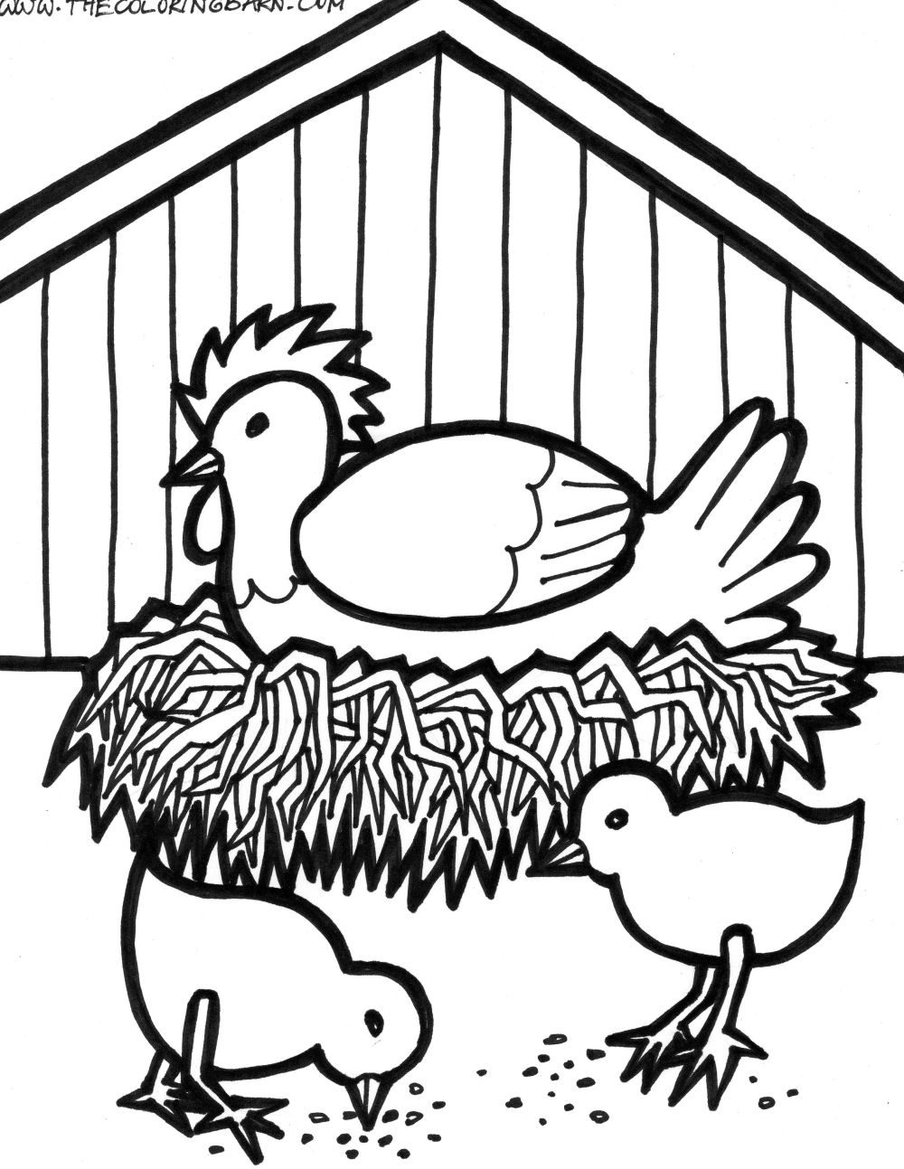 chicken coloring pages chicken coloring pages to download and print for free chicken pages coloring