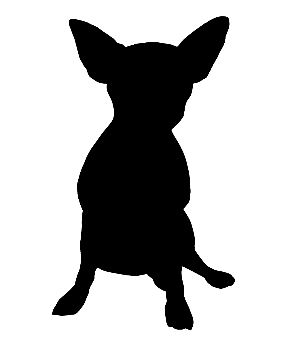 chihuahua outline chihuahua coloring pages only coloring pages chihuahua outline