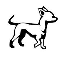 chihuahua outline chihuahua stencils on stencil revolution animal coloring chihuahua outline