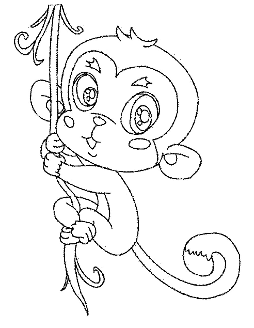 chimpanzee pictures to print top 25 free printable monkey coloring pages for kids to chimpanzee pictures print