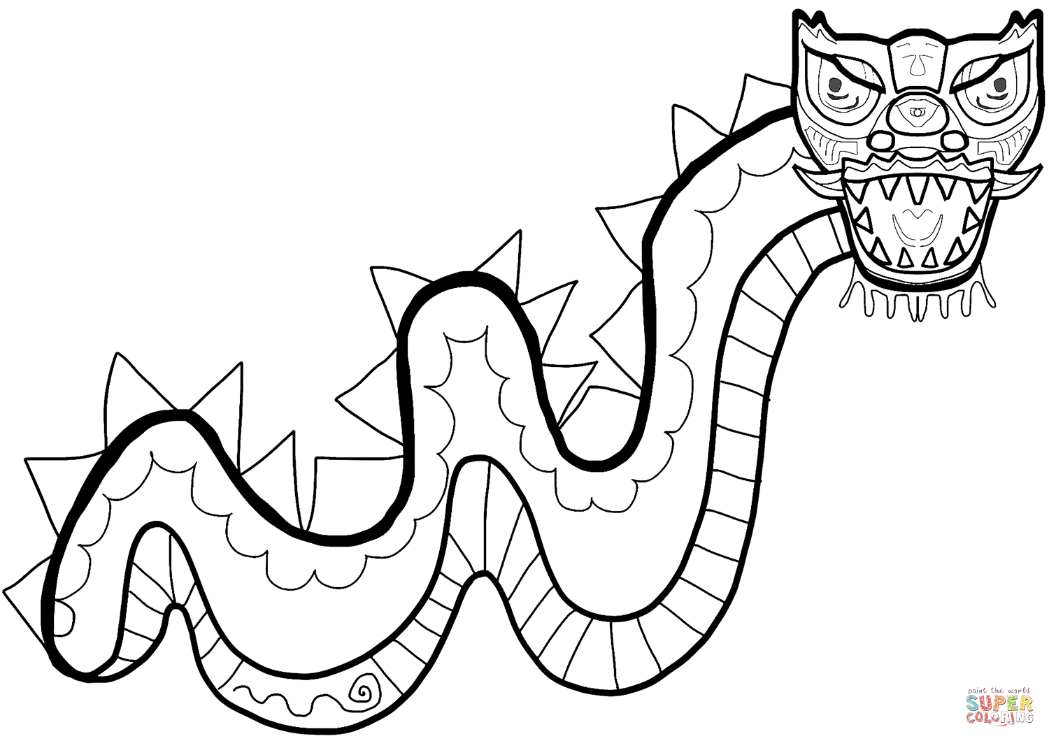 chinese dragon coloring page free printable chinese dragon coloring pages for kids page dragon coloring chinese