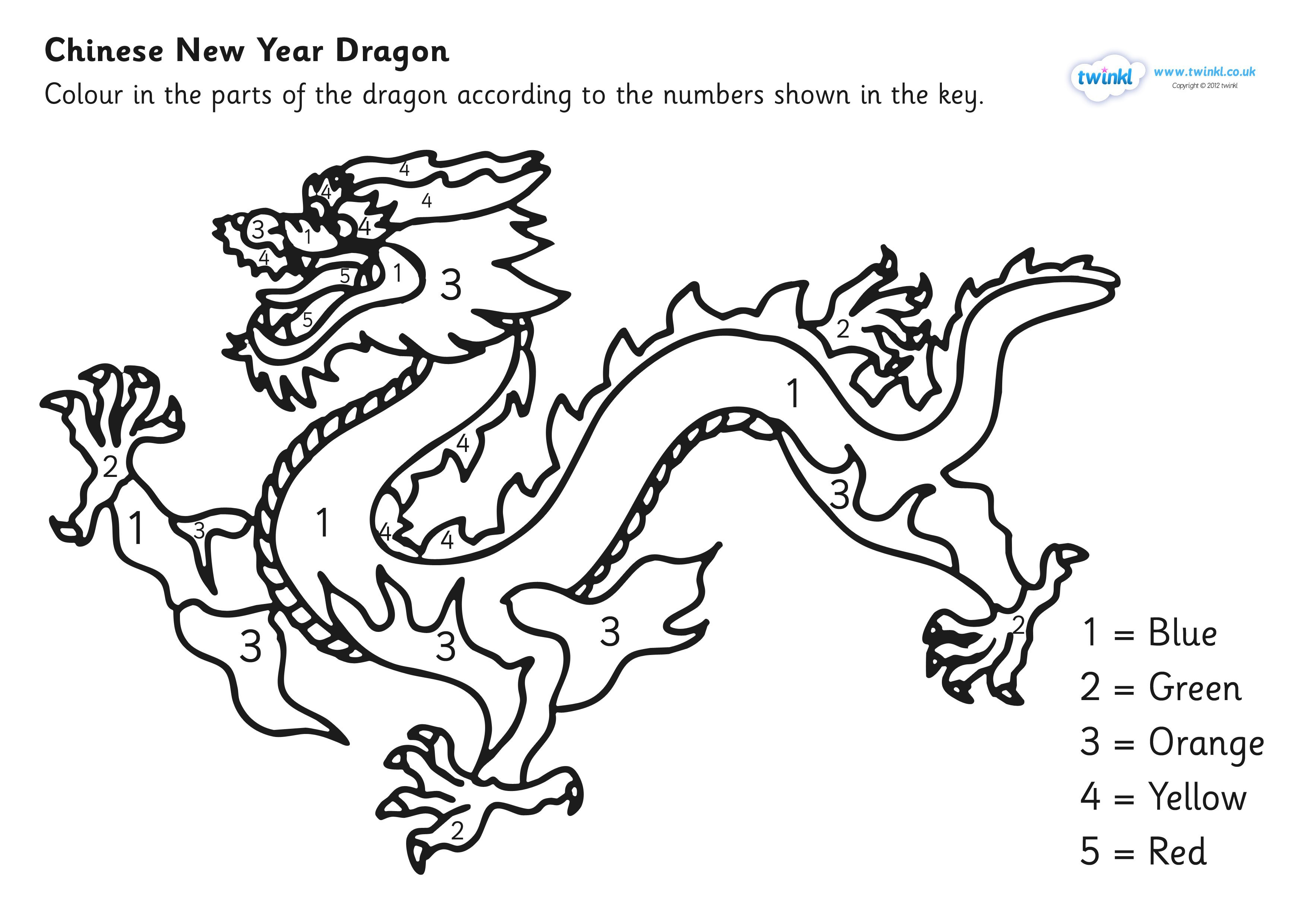 chinese dragon colouring pictures chinese dragon coloring page bubakidscom chinese dragon colouring pictures