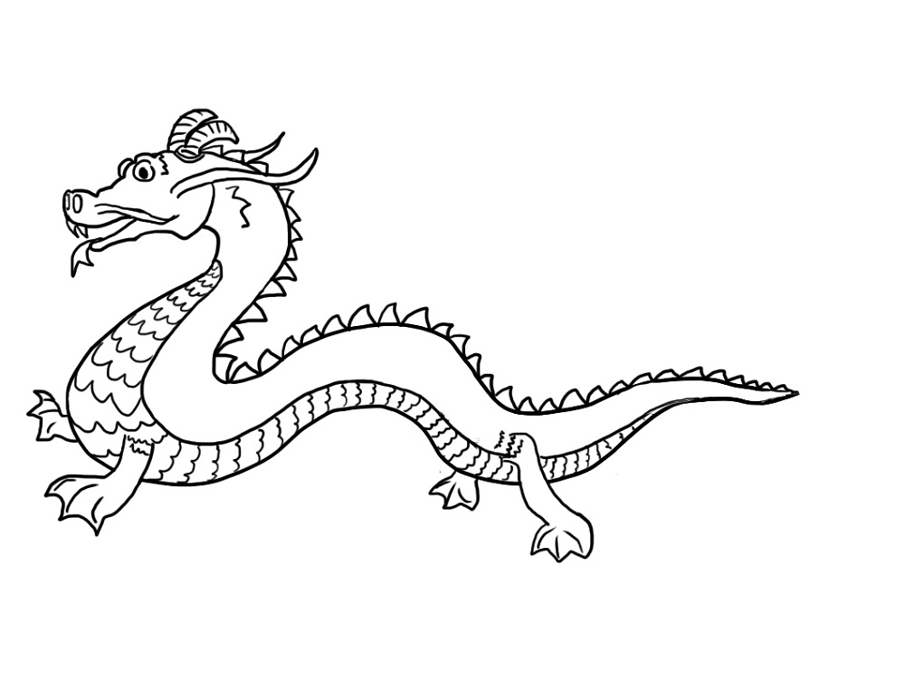 chinese dragon colouring pictures dragon coloring pages printable activity shelter dragon chinese pictures colouring