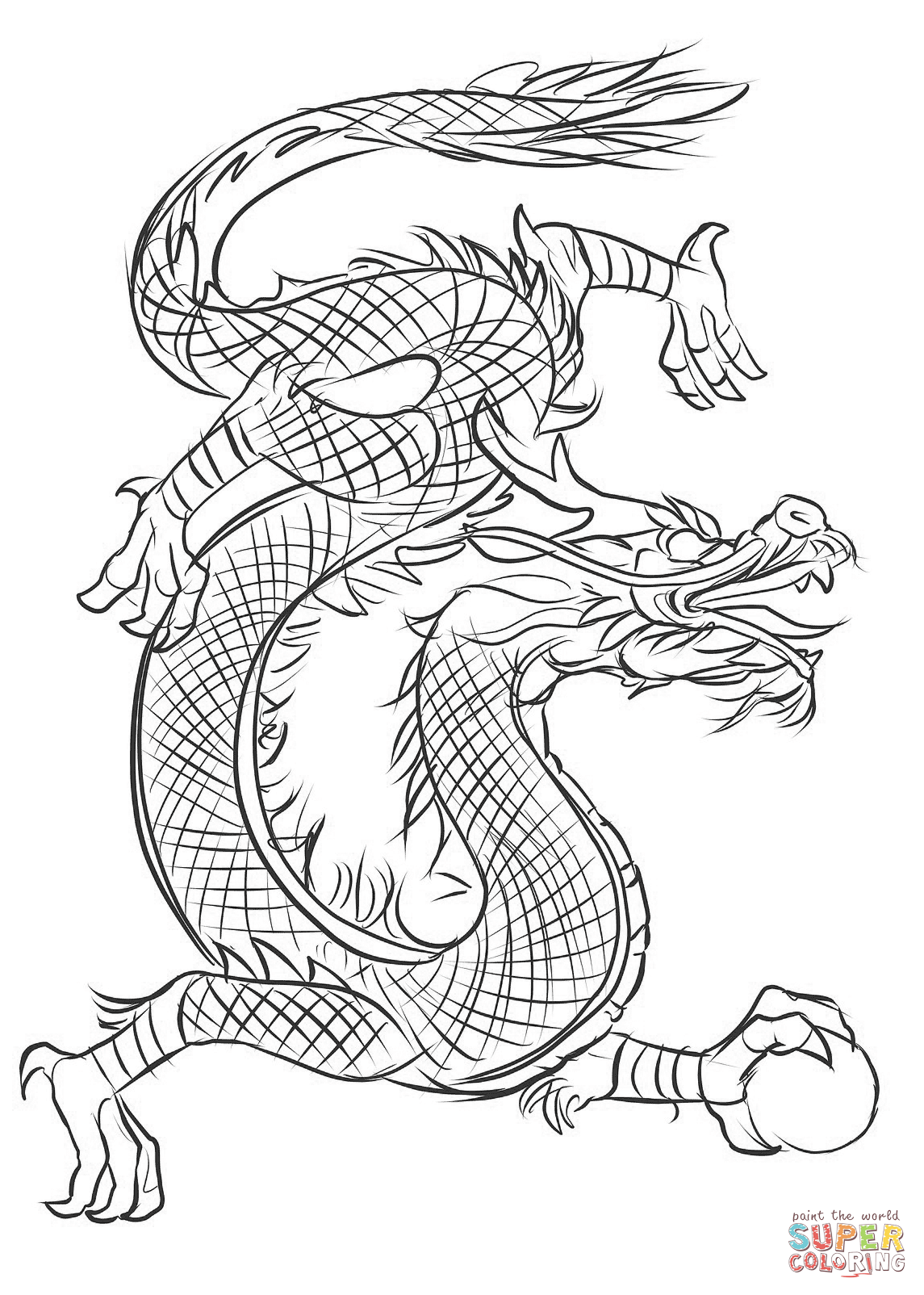 chinese dragon colouring pictures dragon coloring pages printable activity shelter pictures dragon chinese colouring