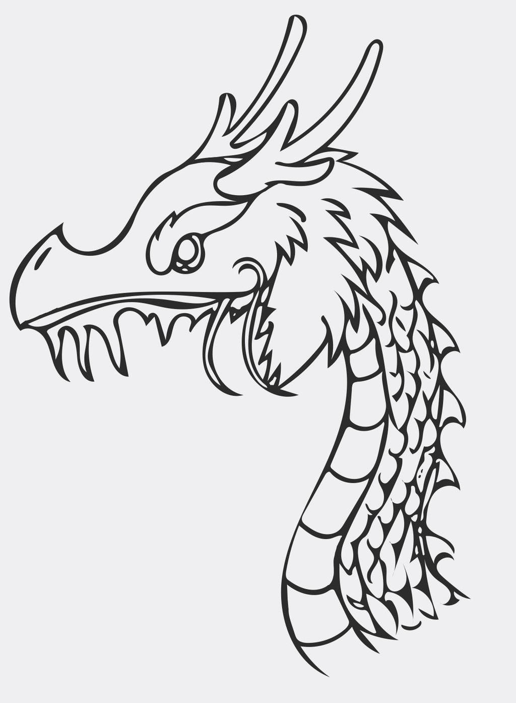 chinese dragon outline chinese dragon outline by anttya on deviantart chinese outline dragon