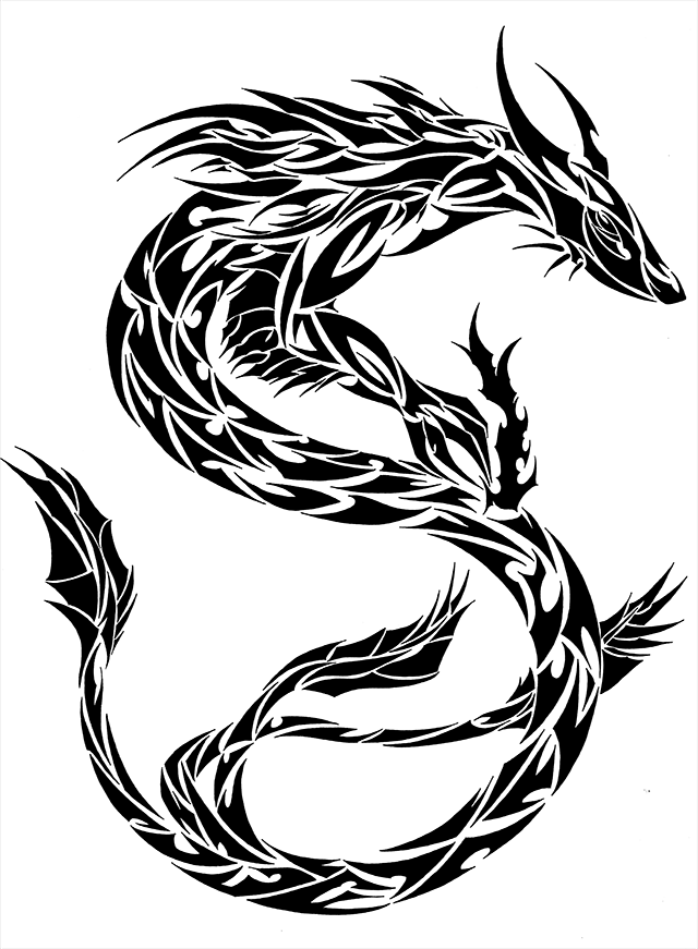 chinese dragon outline chinese dragon outline clipartsco dragon chinese outline