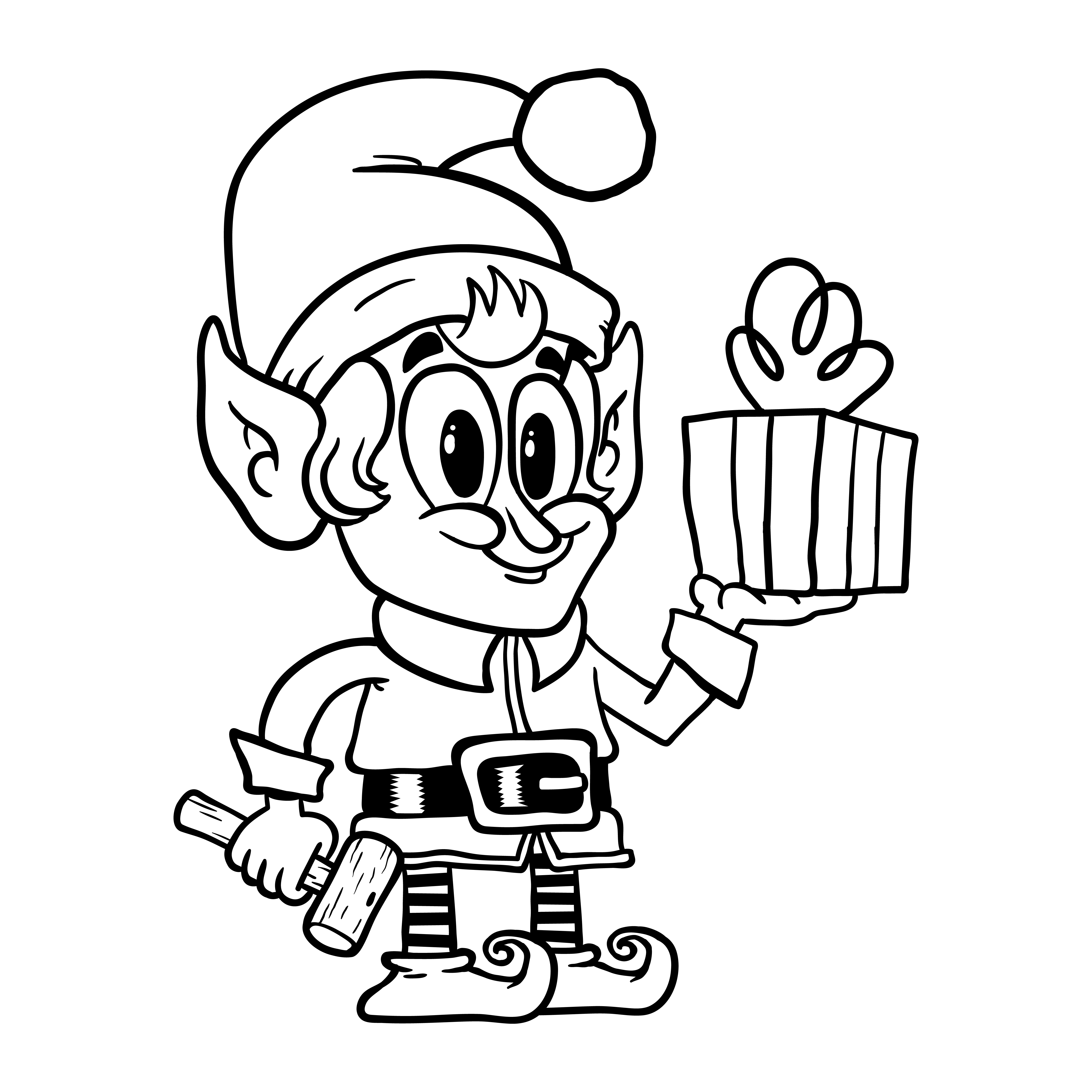 christmas elf drawings happy christmas elf stock illustration download image elf christmas drawings