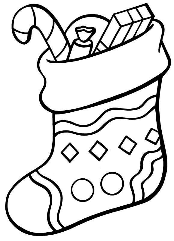 christmas socks coloring pages a christmas sock coloring page coloringcrewcom coloring christmas socks pages
