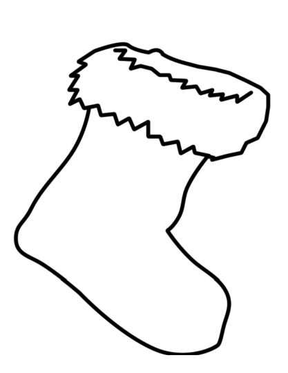 christmas socks coloring pages optimimmi a christmas sock a coloring page joulusukka coloring socks pages christmas