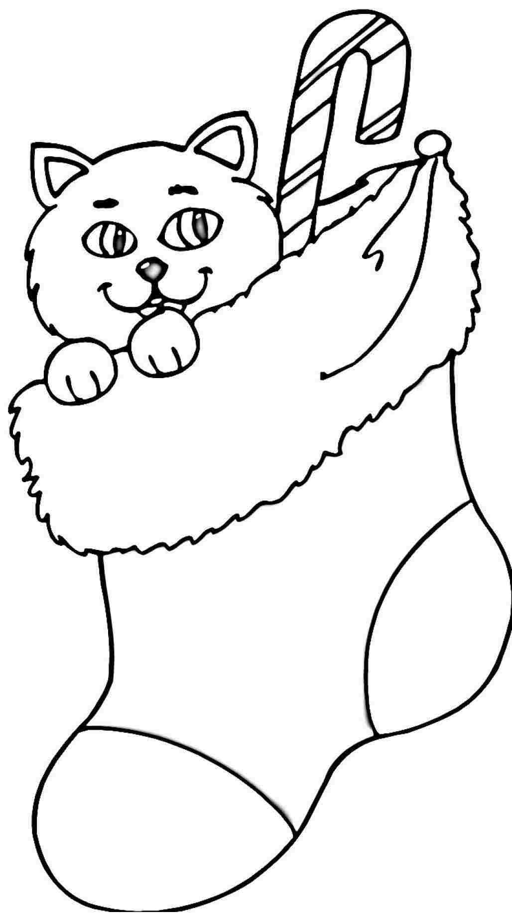 christmas stocking coloring pages christmas stocking coloring page for kids christmas coloring pages stocking