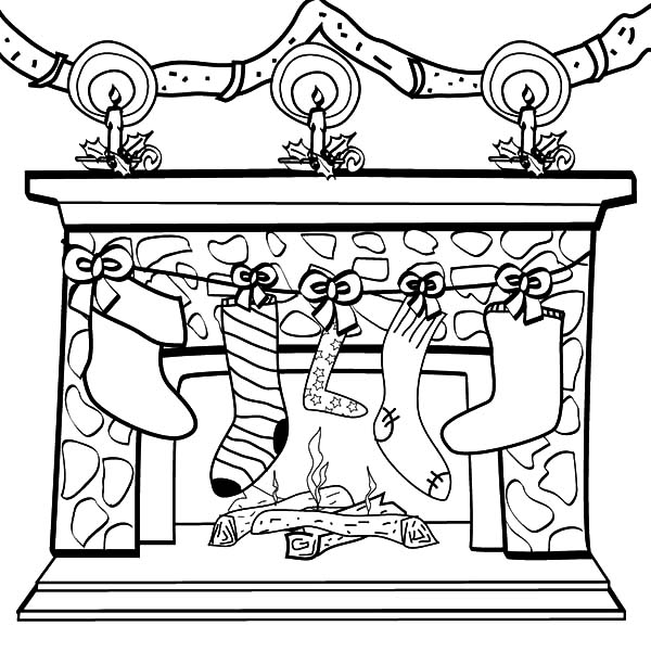 christmas stocking coloring pages christmas stocking coloring pages pages stocking christmas coloring