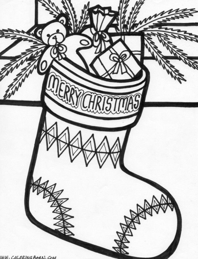 christmas stocking coloring pages coloring page christmas stockings stocking pages coloring christmas