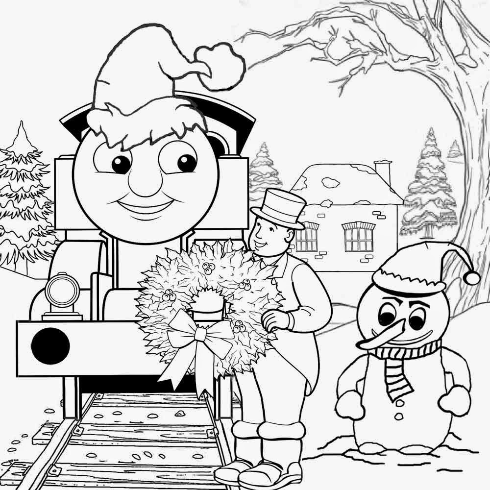 christmas train coloring pages christmas thomas train coloring pages for kids printable free coloring pages christmas train