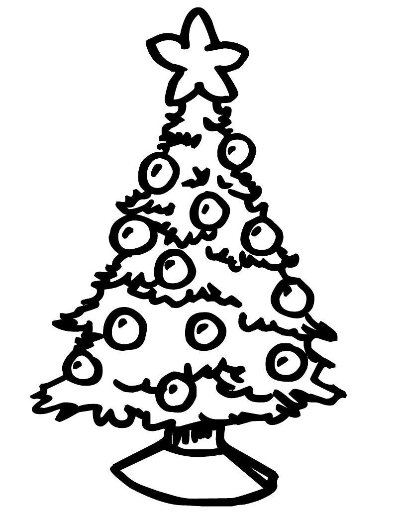 christmas tree to color coloring pages of christmas trees coloring home christmas color tree to
