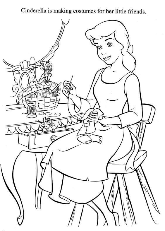 cinderella face coloring pages 30 free printable cinderella coloring pages face cinderella coloring pages