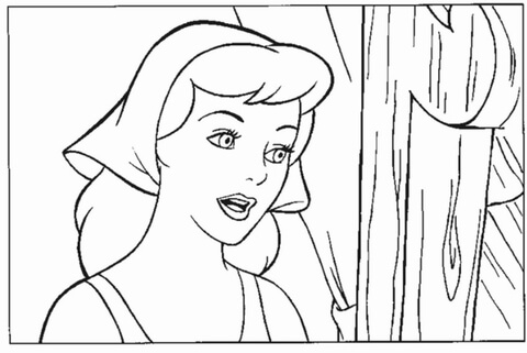 cinderella face coloring pages 30 free printable cinderella coloring pages face cinderella pages coloring