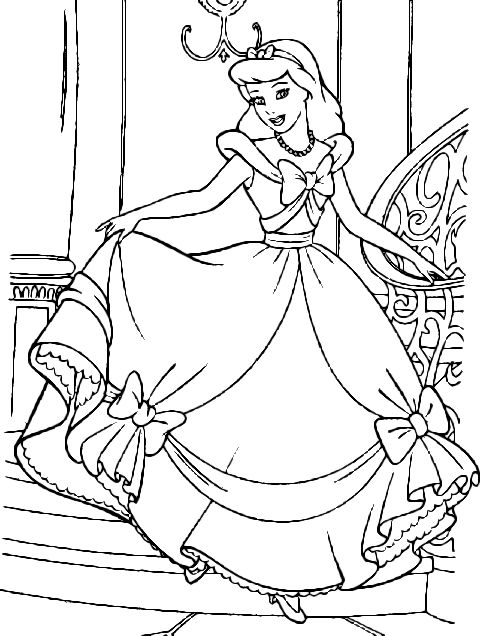 cinderella face coloring pages cinderella face coloring pages at getdrawings free download face coloring pages cinderella 1 1
