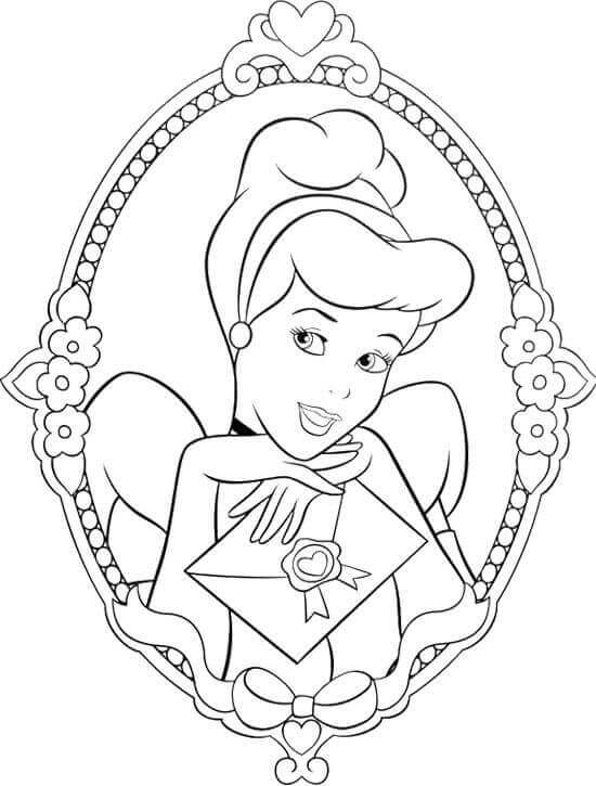 cinderella face coloring pages disney39s cinderella coloring pages disneyclipscom cinderella face coloring pages