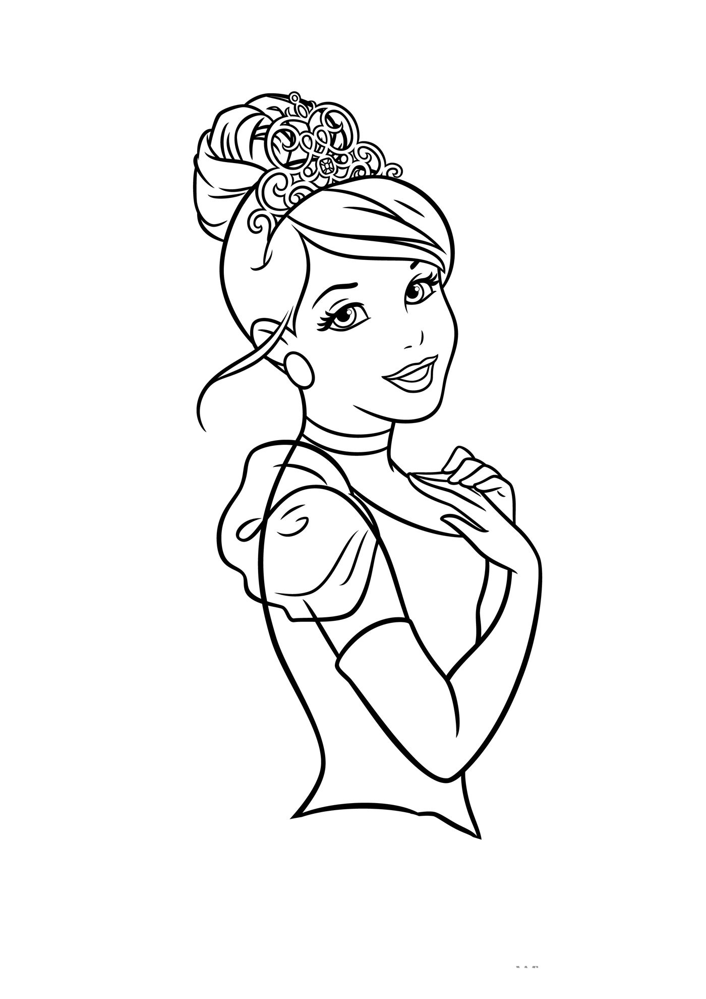 cinderella face coloring pages pin by charline dahlquist on disney pictures to color coloring pages cinderella face