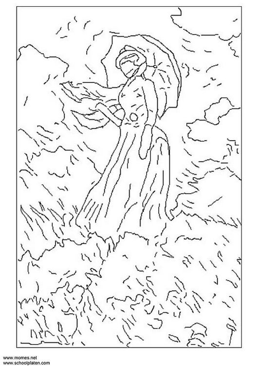 claude monet coloring pages monet the early years coloring book vmfa shop pages coloring monet claude