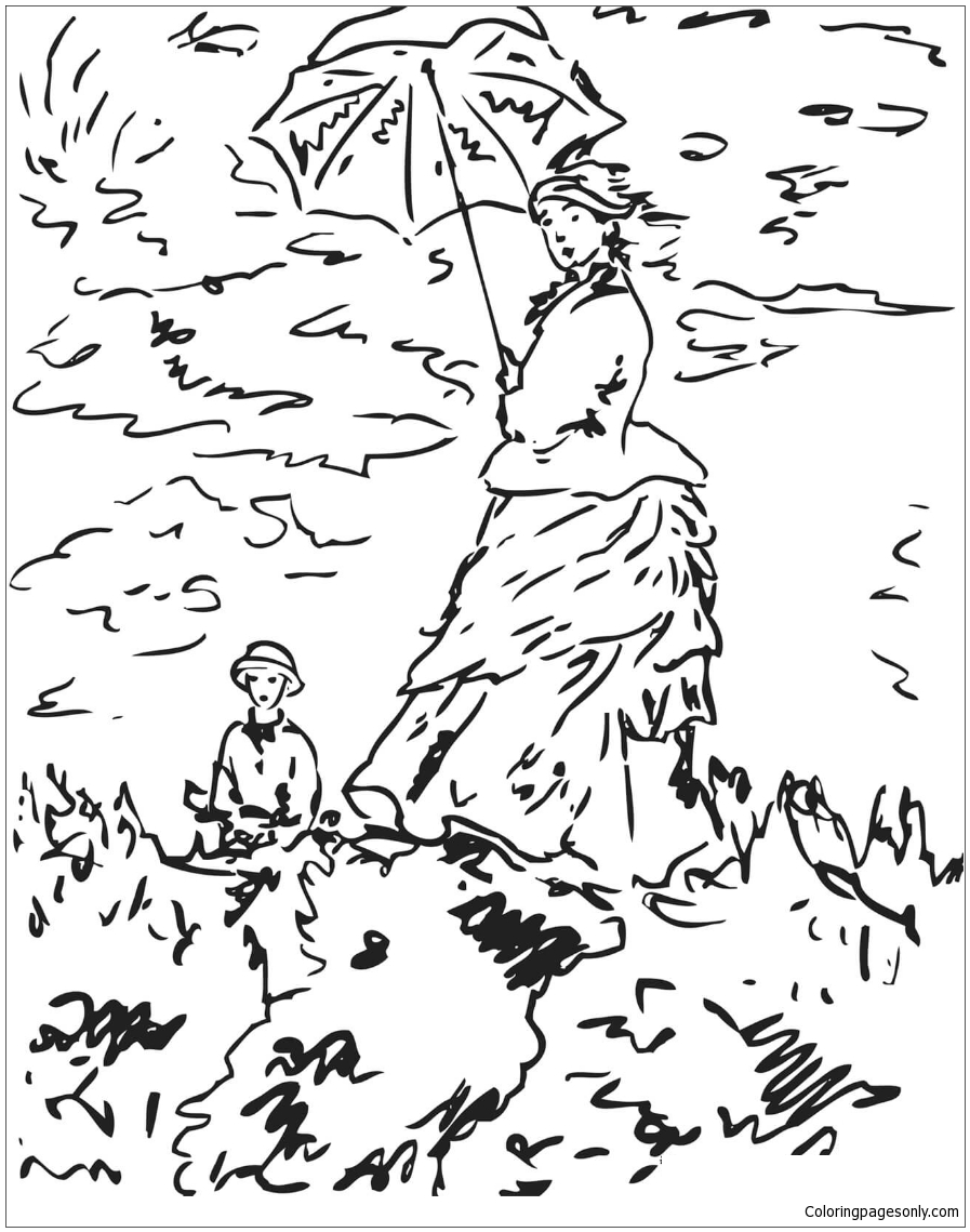 claude monet coloring pages original and fun coloring pages coloring pages cool monet pages claude coloring