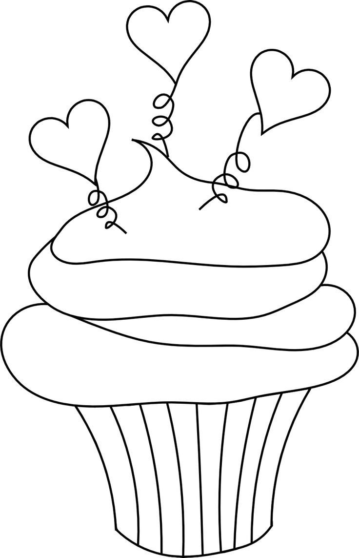 clipart coloring pages cupcake clipart coloring page 20 free cliparts download pages clipart coloring