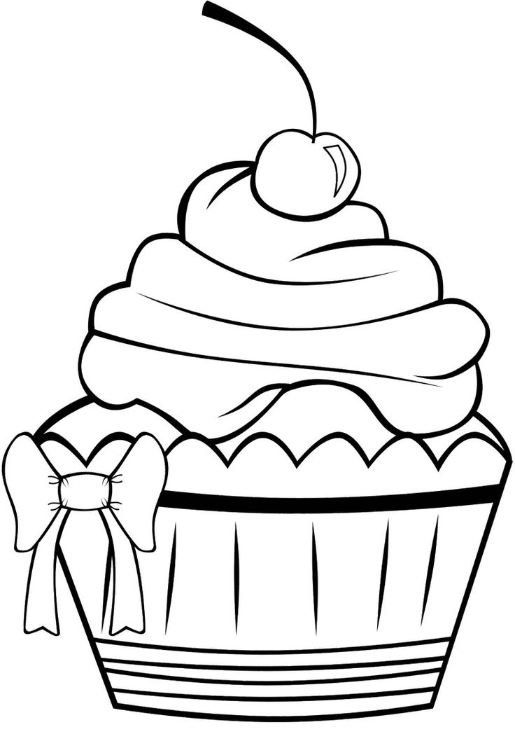 clipart coloring pages cupcake clipart coloring page 20 free cliparts download pages coloring clipart