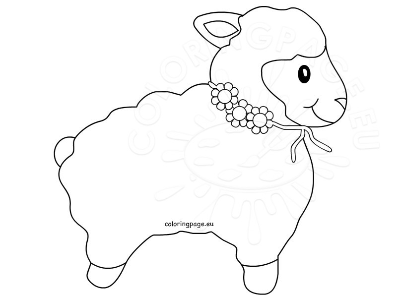 clipart coloring pages lamb outline sheep clip art coloring page coloring pages clipart