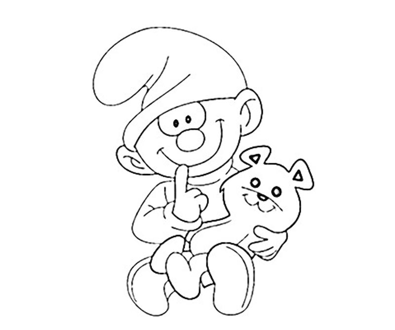clumsy smurf coloring pages 7 clumsy smurf coloring page pages smurf clumsy coloring