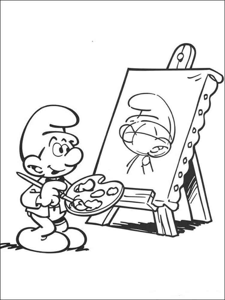 clumsy smurf coloring pages pictures clumsy the smurf eat pizza coloring pages the coloring smurf clumsy pages