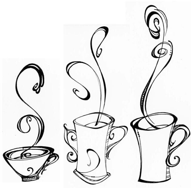 coffee cup sketch coffee line drawing free download on clipartmag sketch cup coffee