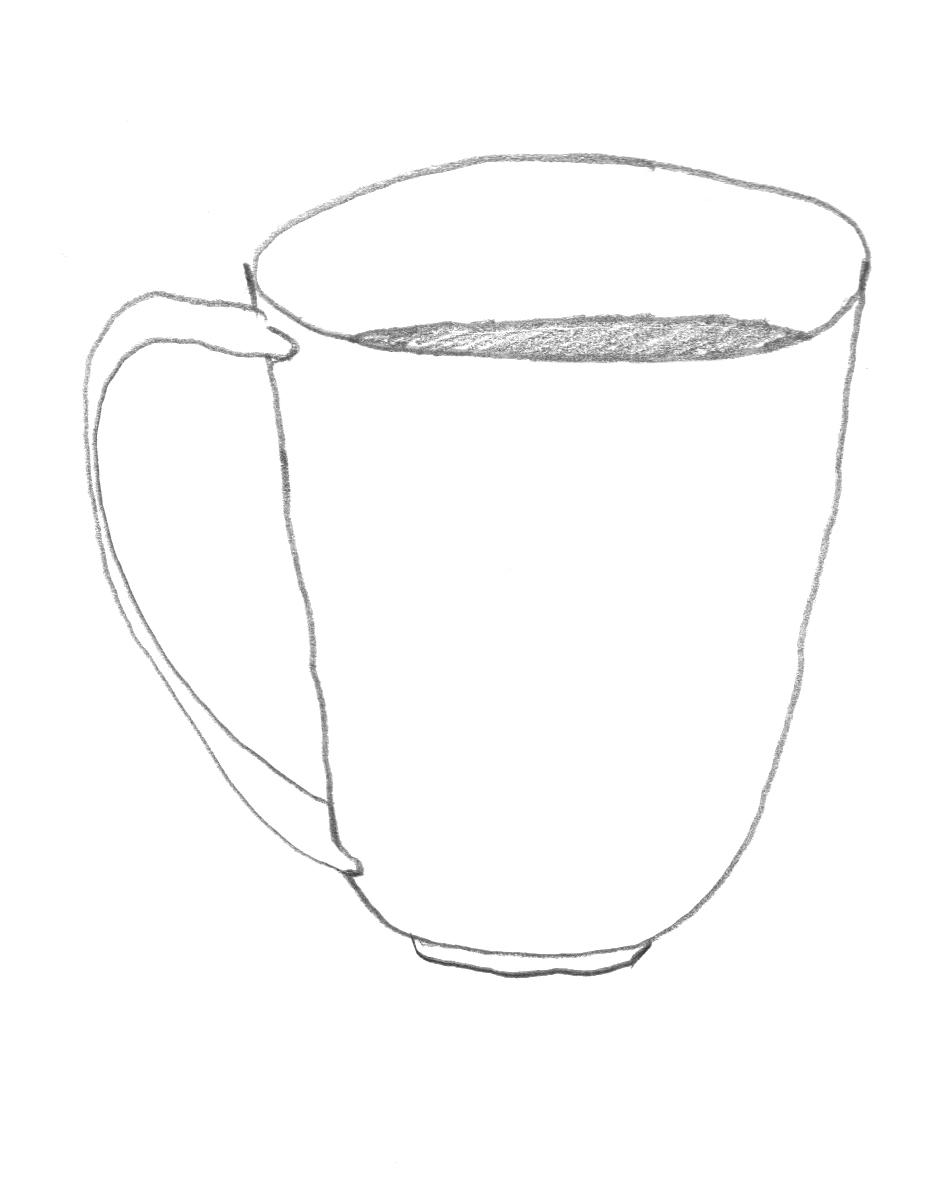 coffee cup sketch coffee tea cup outline cartoons illustrations royalty sketch cup coffee