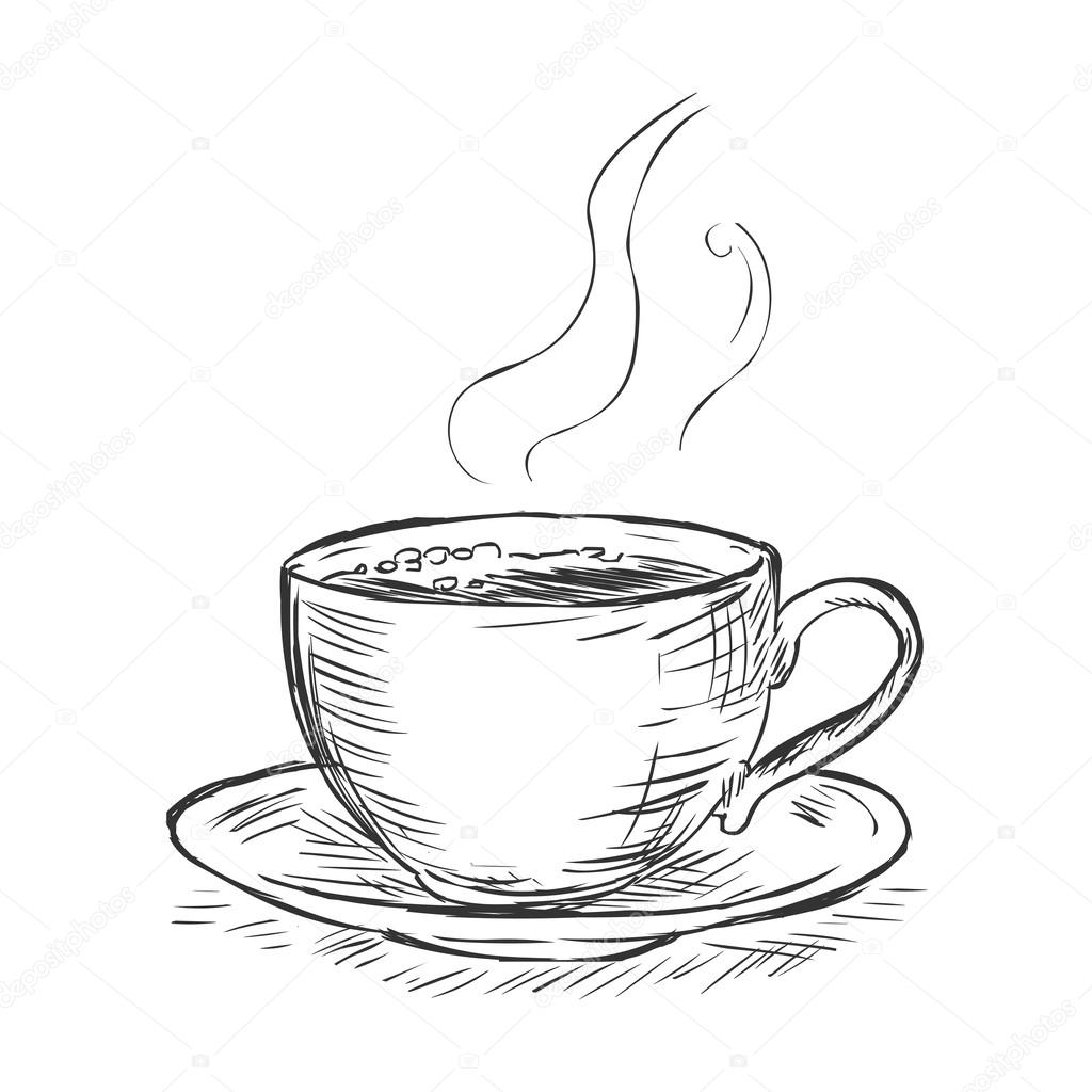 coffee cup sketch cup of coffee drawing at getdrawings free download cup sketch coffee