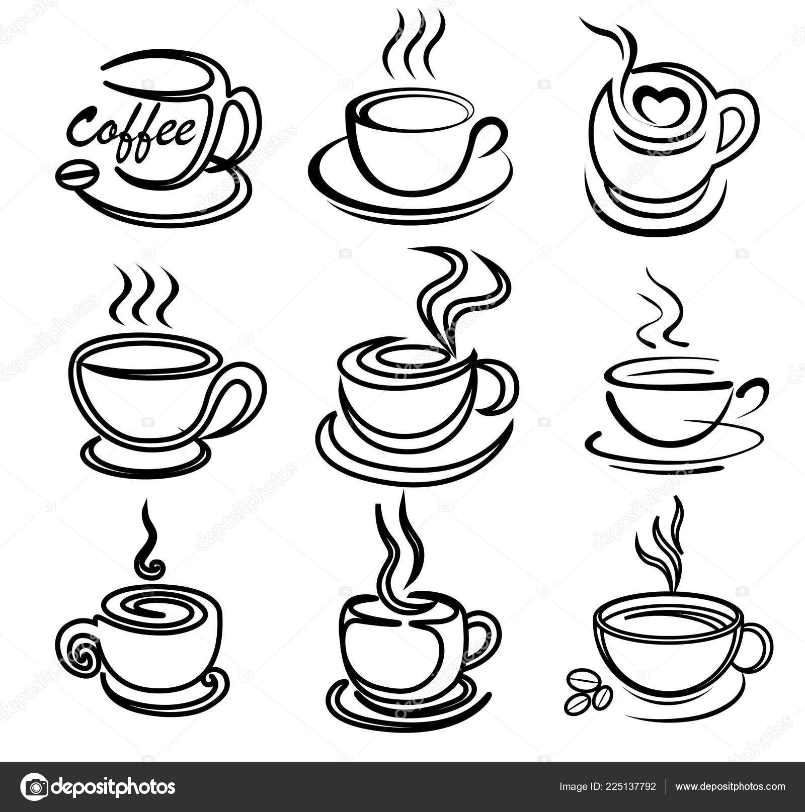 coffee cup sketch line drawing coffee cup at getdrawings free download cup coffee sketch