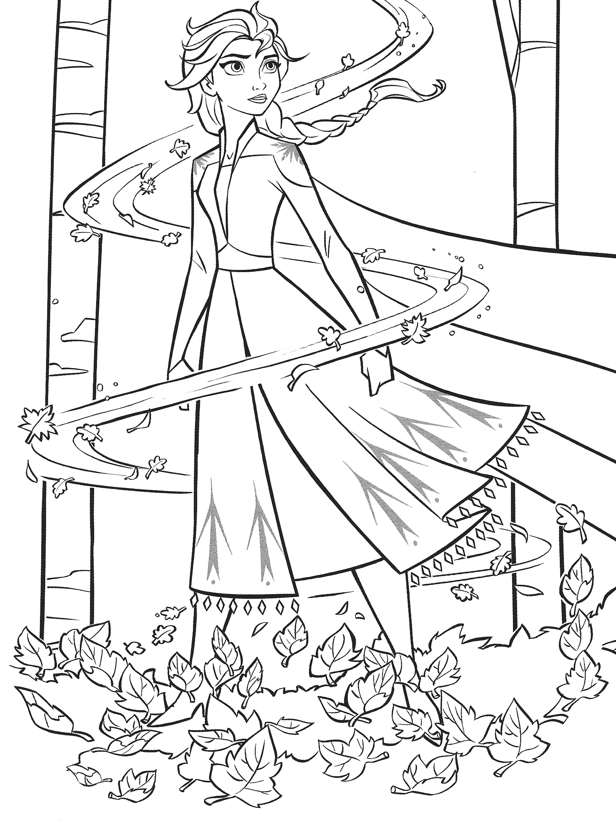 color pages frozen new frozen 2 coloring pages with elsa youloveitcom frozen color pages