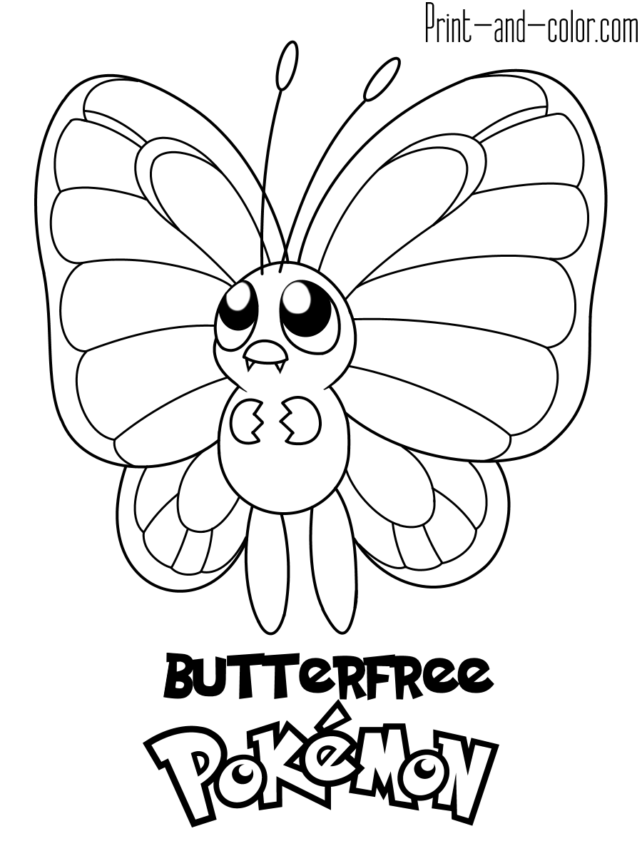 color pokemon cool pokemon coloring pages at getcoloringscom free pokemon color