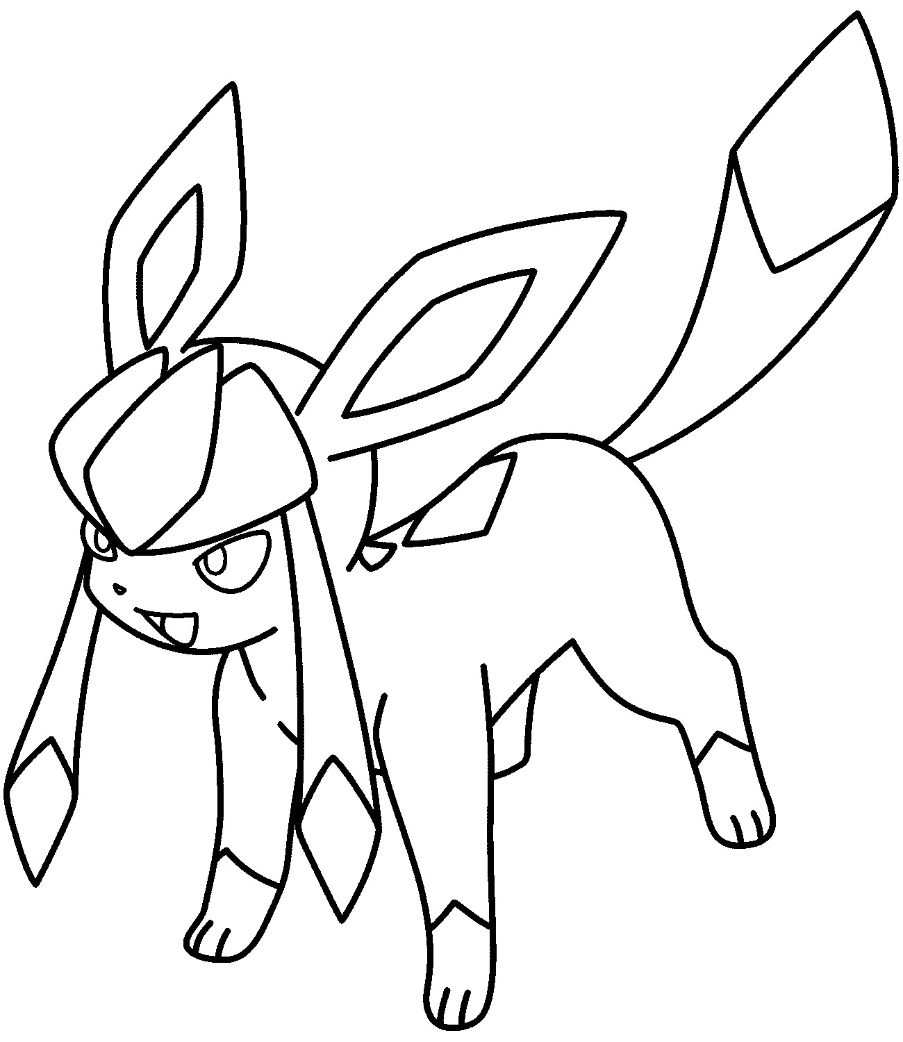 color pokemon grass type pokemon coloring pages at getcoloringscom color pokemon