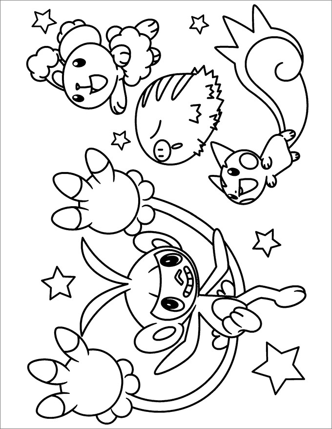 color pokemon pokemon evolution coloring pages at getcoloringscom color pokemon
